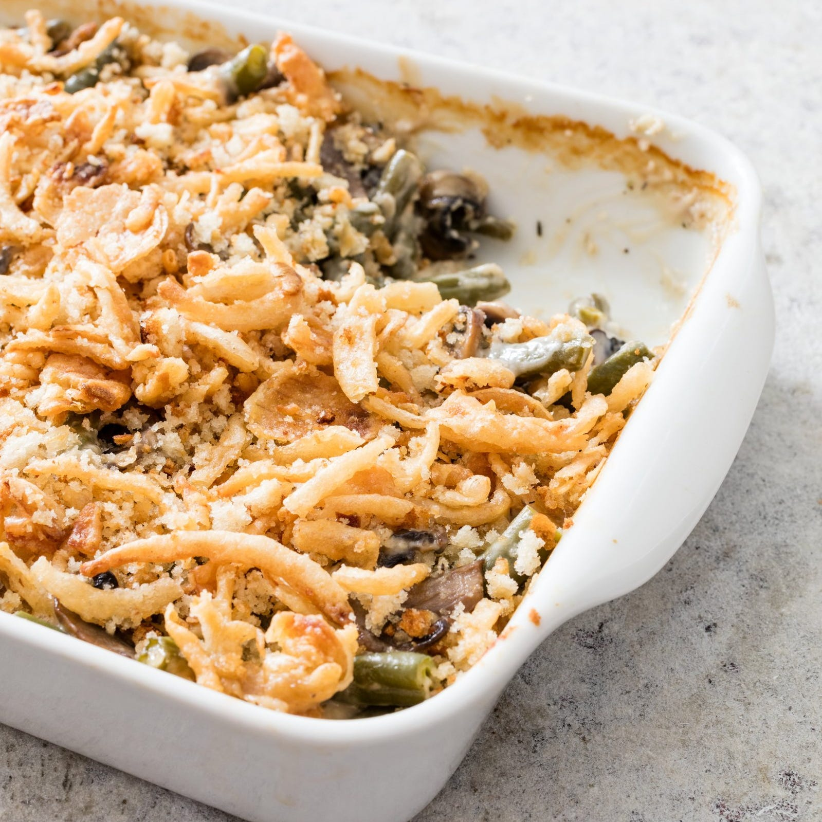 Green bean casseroles are fast and easy, and they've stood the test of time