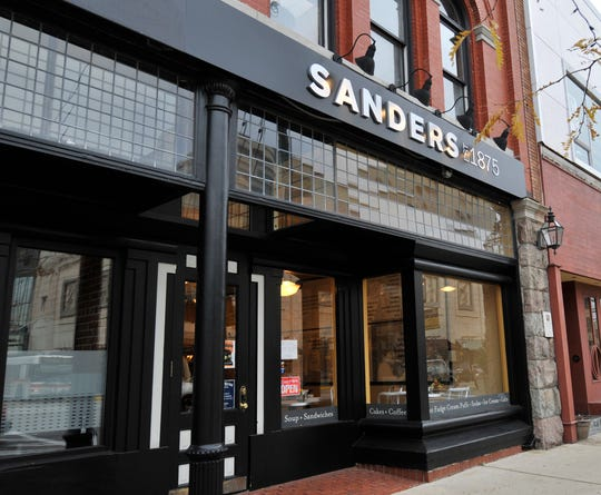 Sanders Candy is closing four stores in Metro Detroit.