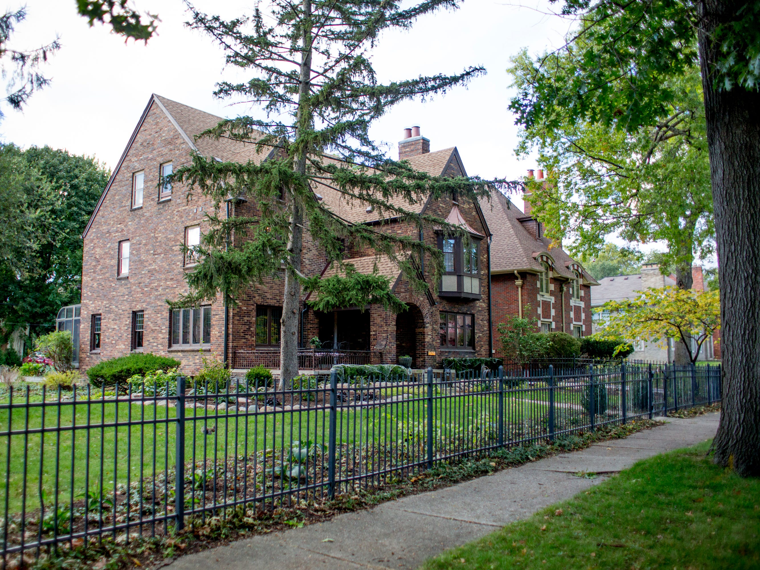 The home of Miranda Steinhauser at 17405 Wildemere Street in the University District in Detroit.