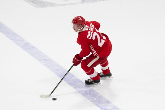 Dennis Cholowski is averaging 22:14 of ice time this season.