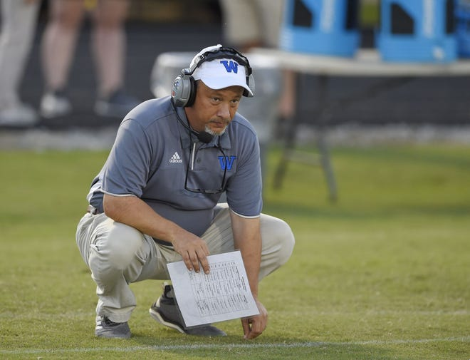 Second-year Woodmont coach Jet Turner has his team on a five-game winning streak heading into Friday's home game against T.L. Hanna.