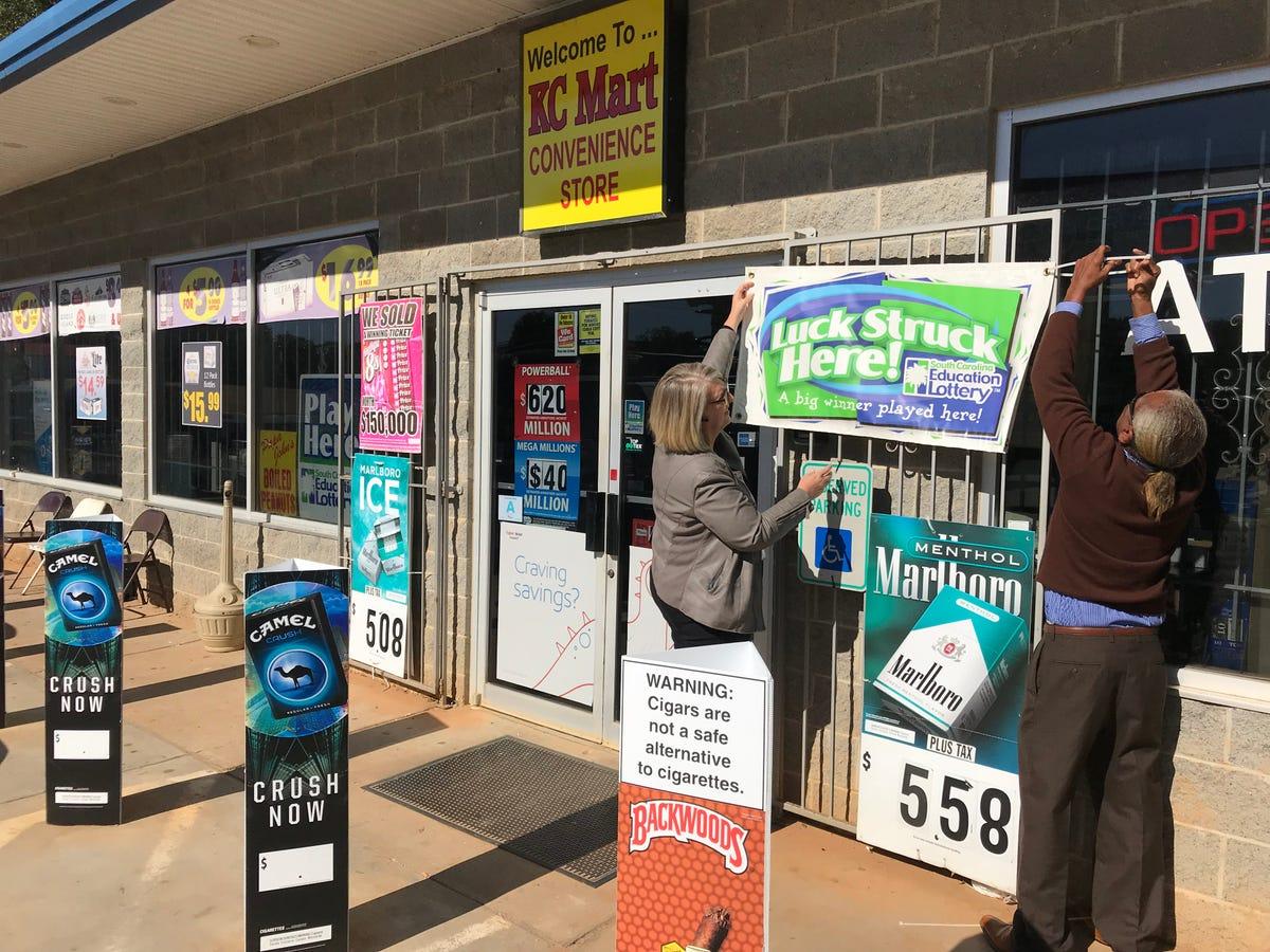 South Carolina convenience store sold $1 5 billion Mega
