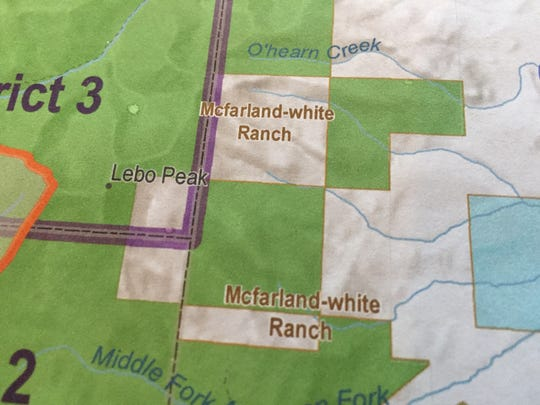 Parcels of McFarland White Ranch in the Crazy Mountains are surrounded by forest.