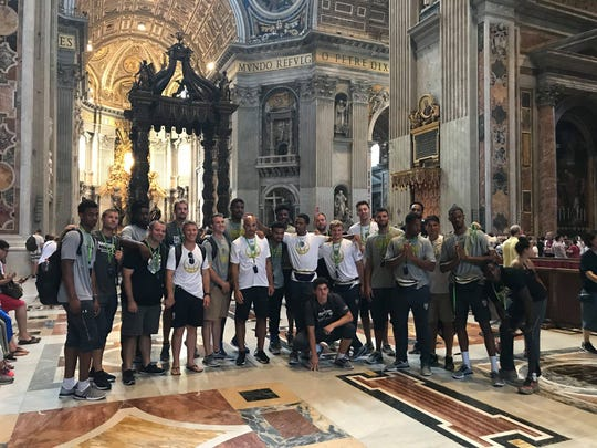 Purdue Fort Wayne basketball took a trip to Italy before the season.