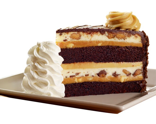 Reese's Peanut Butter Chocolate Cake Cheesecake from The Cheesecake Factory