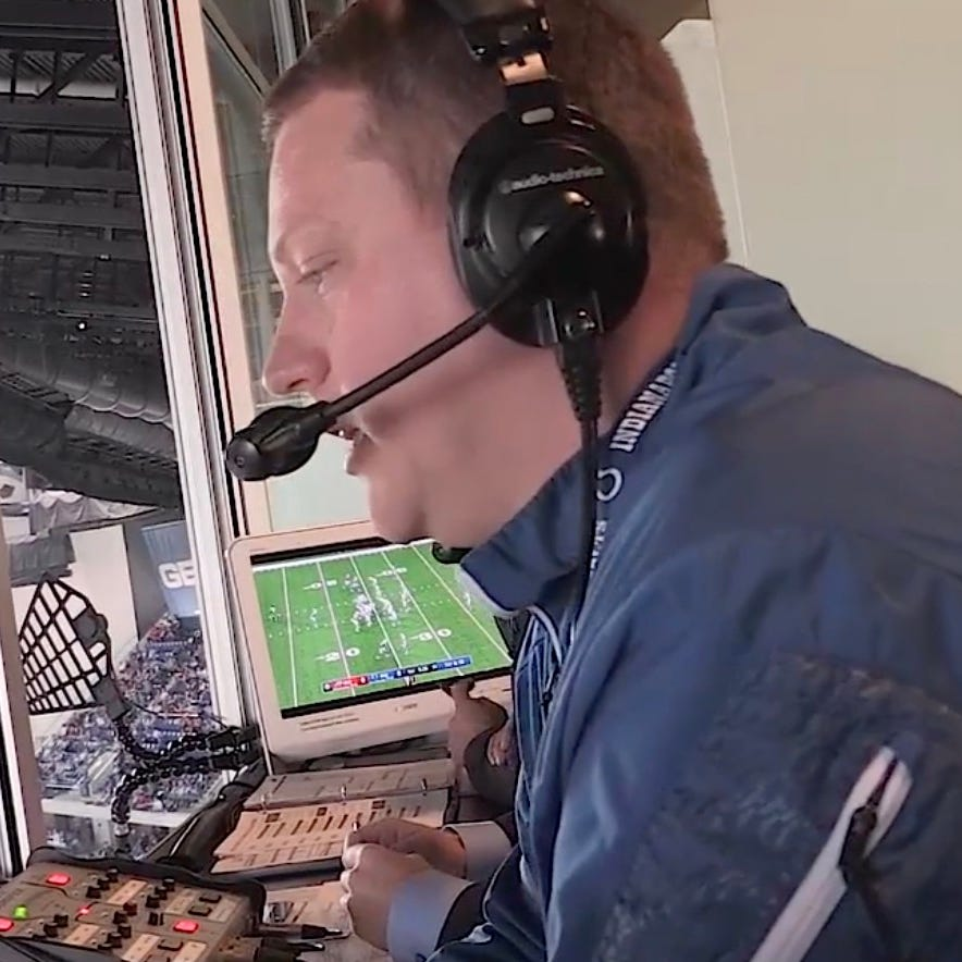 Colts make Matt Taylor full-time play-by-play broadcaster