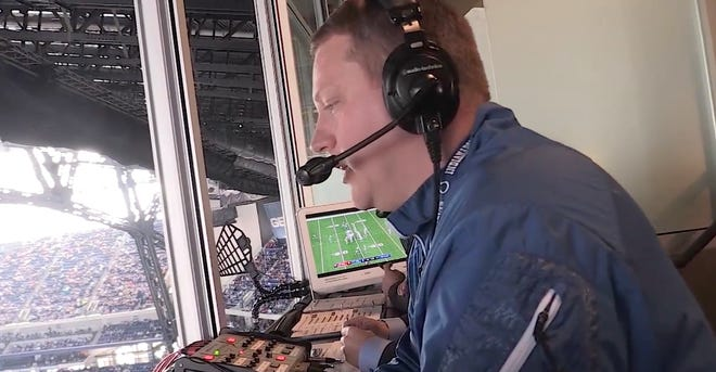 Matt Taylor is this season's radio play-by-play voice for the Indianapolis Colts.