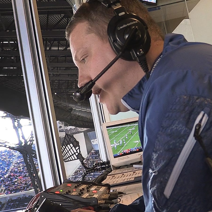 For Matt Taylor, officially becoming the new Voice of the Colts is a 'pinch myself' moment