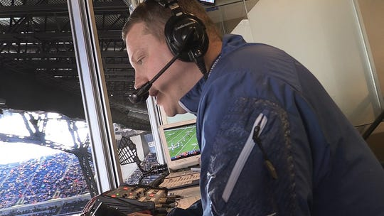 From dream to reality, Colts radio voice Matt Taylor now calls the games for the Indianapolis franchise.