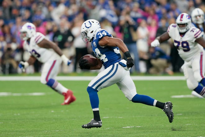 In just his second week with the Colts, veteran Mike Mitchell was named AFC Defensive Player of the Week.