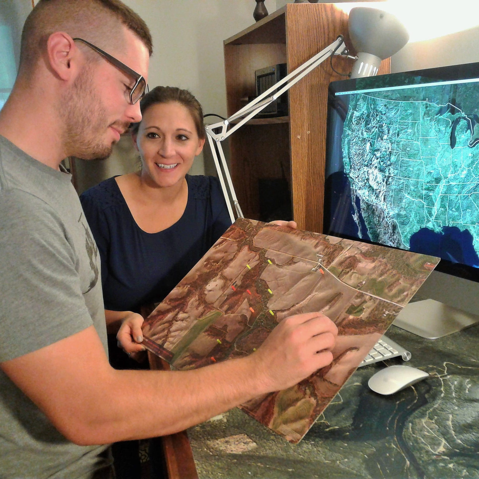 Small Iowa City mapping company making big splash with hunters