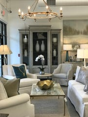 Neutral colors are popular in upholstered pieces at the new Interior Spaces in Madison.