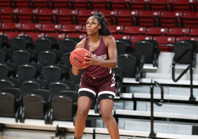 Anriel Howard transferred from Texas A&M in July. Now, she figures to be a main cog at forward for head coach Vic Schaefer.