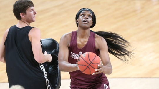 Senior center Teaira McCowan is this year's SEC Preseason Player of the Year. She should be a formidable force in the paint for head coach Vic Schaefer.