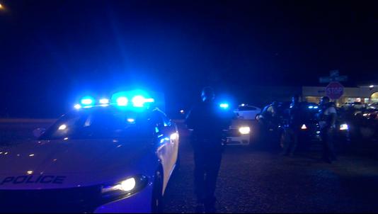 JPD officers night shot