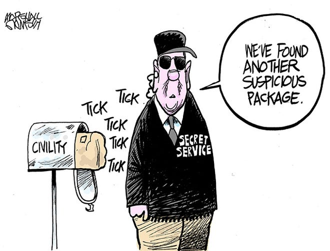 Marshall Ramsey: Suspicious Packages