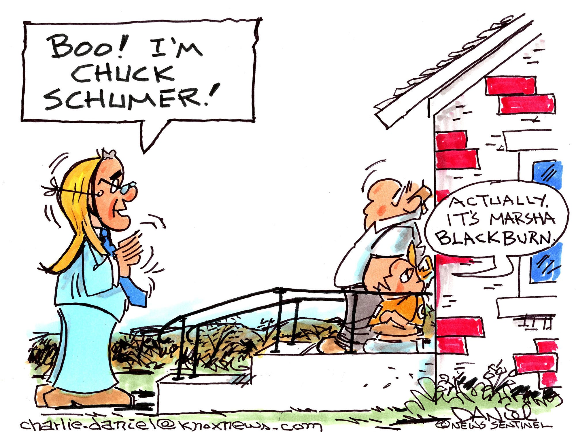 Charlie Daniel cartoon for Oct. 24, 2018