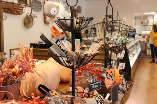 Halloween treats on sale at Bradley's in Cedar Bluff.