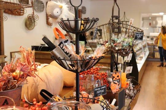 Halloween treats on sale at Bradley's in Cedar Bluff.