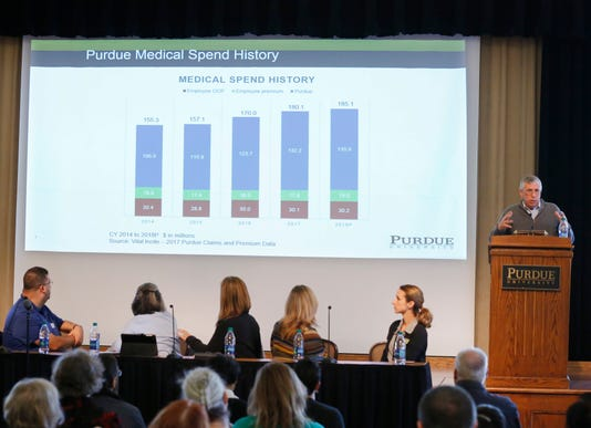 Laf Purdue Faculty Make Concerns About Healthcare Loud And Clear