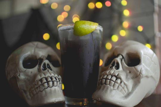 """""""Ghoul Aid"""" served at Wing Fingers"""