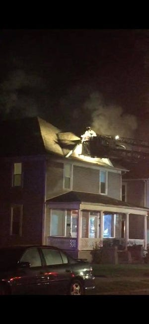 The Lancaster Fire Department responded to a fire in the 200 block of East Sixth Street just before 4 a.m. on Wednesday. The fire investigator determined the fire started in the attic and electrical issues could not be ruled out as a cause.