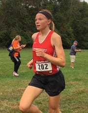 Pinckney's Noelle Adriaens has run 18:08, the fastest girls time in Livingston County this season.