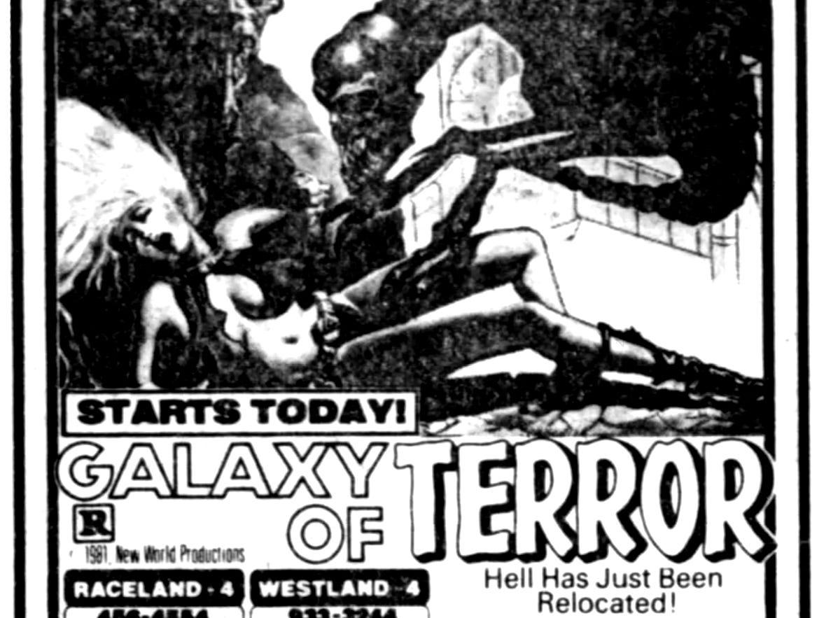 """""""Galaxy of Terror,"""" Friday, Feb. 26, 1982"""
