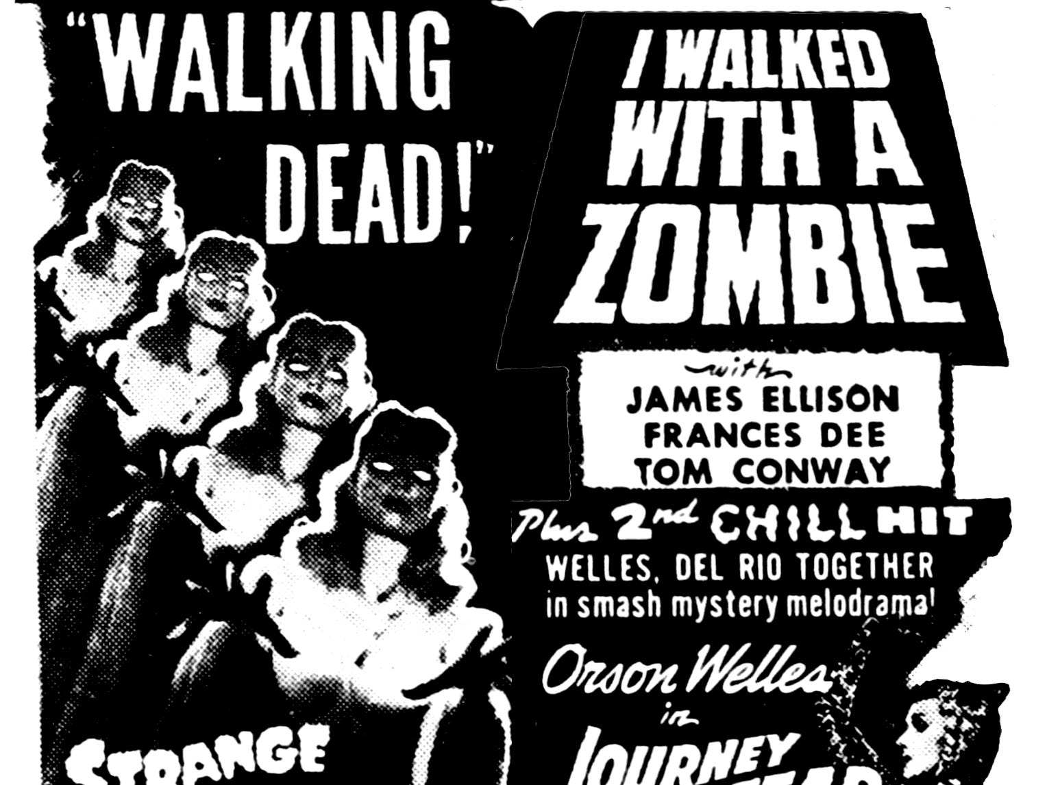 """""""I Walked with a Zombie,"""" Friday, May 14, 1943"""