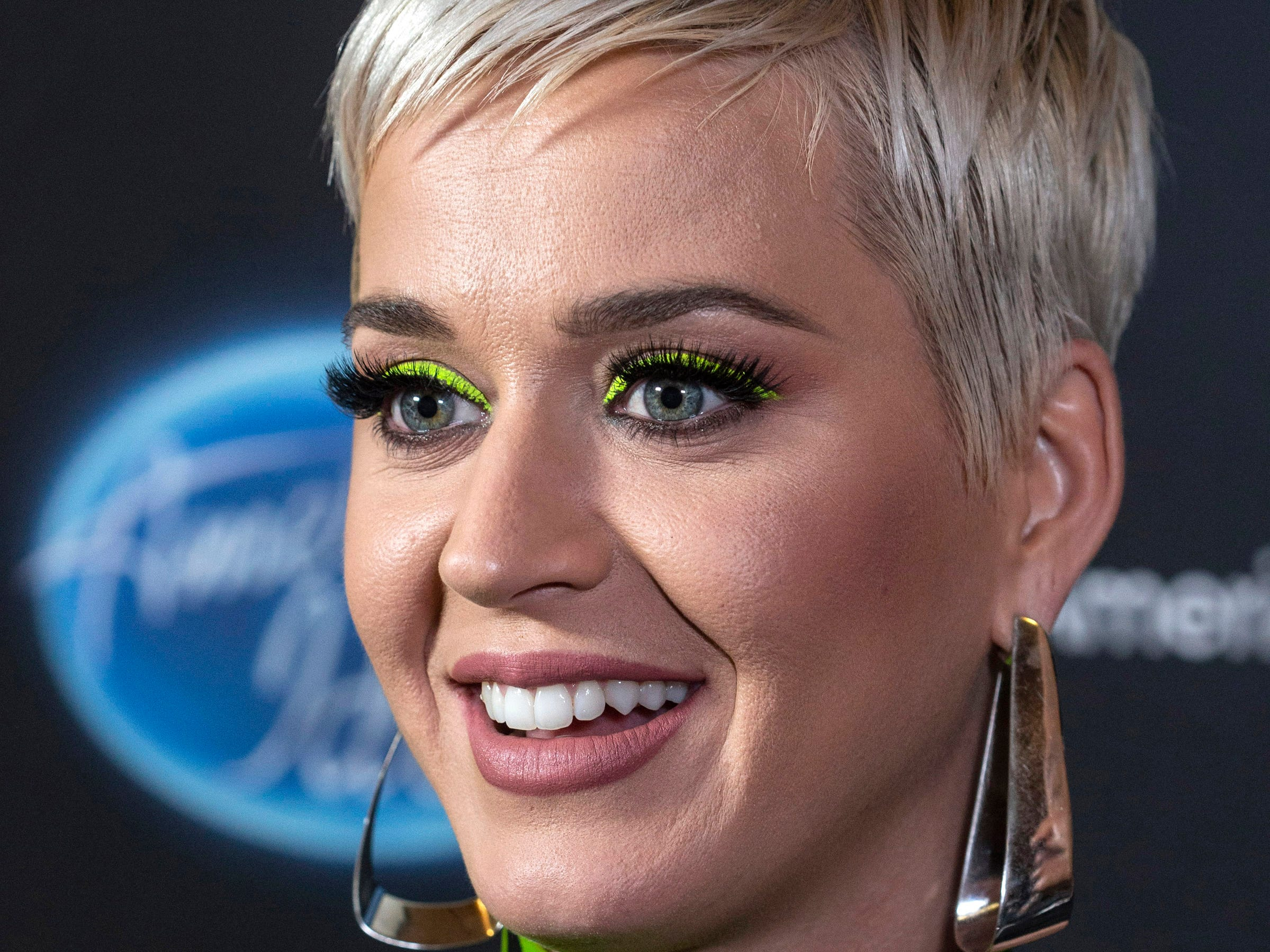 Pop star turned American Idol judge Katy Perry was in Louisville on Tuesday night for local auditions at the Ali Center. 10/23/18