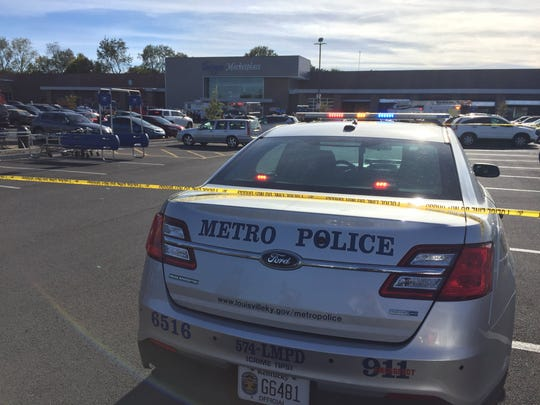 A shooting was reported at the Jeffersontown Kroger Wednesday afternoon.
