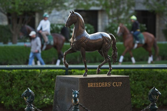 Breeders Cup Trophy