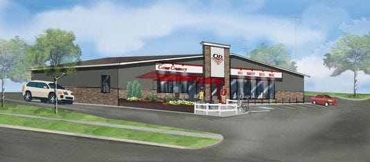 A new Quality Dairy store is expected to open in Holt this December. It will include a patio and drive-thru window. Company officials may decide soon to renovate some of its 30 existing locations in the Lansing region.