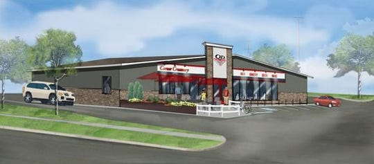 A new Quality Dairy store is expected to open in Holt this December. It will include a patio and drive-thru window.