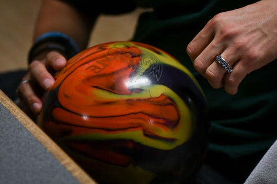 Tony Kujawa, 34, bowled a perfect game at Char-Lanes in Charlotte Oct. 15, 2018.