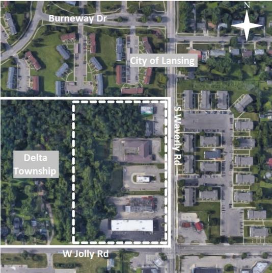 Delta Township Map Annexation Screenshot
