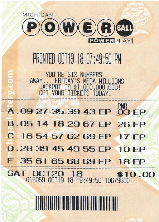 powerball october 20 2019