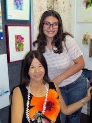 Alyssa Kemper with granddaughter Diane Bonfield