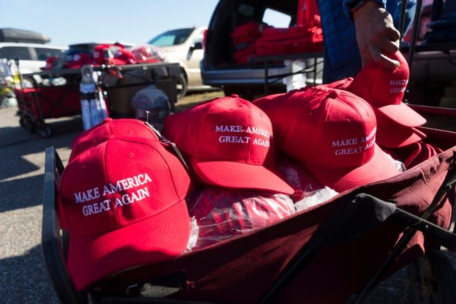Make America Great Again hats.
