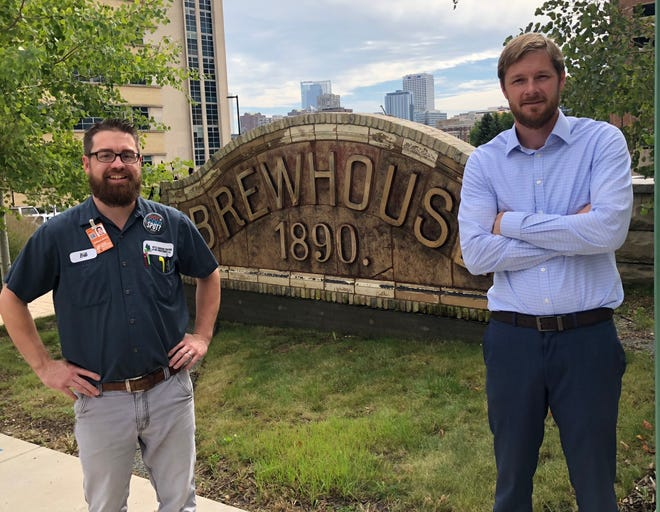 Brother in-laws Bill Brink (left) and Paul Bialas have teamed up to bring a future bar and restaurant to the former 18 West in Delafield.