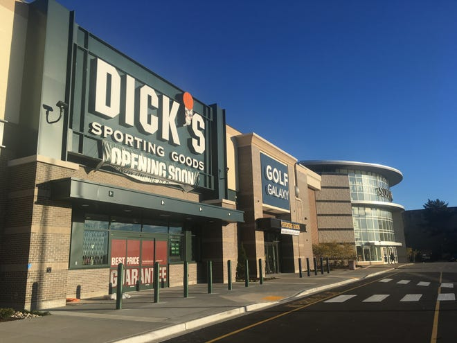 After removing all assault rifles and initiating new gun sale policies at all 732 of its stores, Dick's Sporting Goods is contemplating removing all hunting gear from its stores, company CEO Edward Stack said in a conference call on Nov. 28. Pictured is Dick's Sporting Goods at Southridge Mall in Greendale.