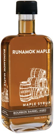 """Bourbon barrel-aged maple syrup is recommended for cocktails """"to impart background notes of smoke and caramel."""""""