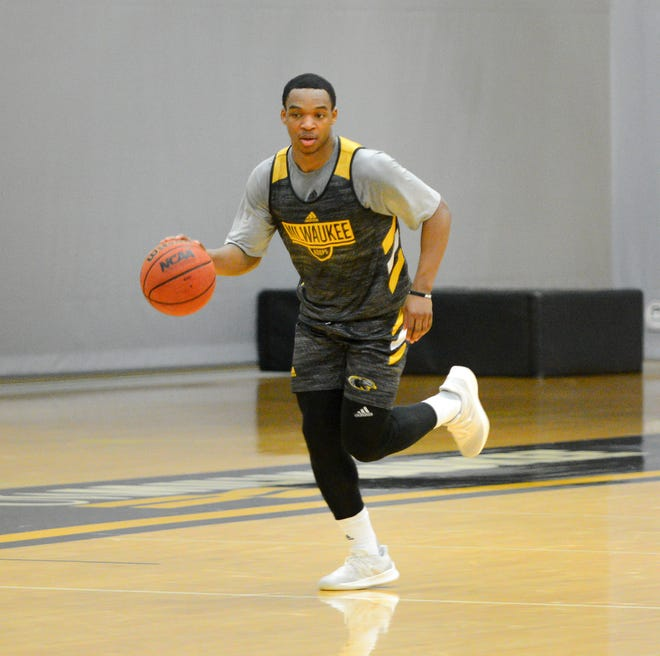 Point guard Bryce Barnes is one of three returning players for UW-Milwaukee.