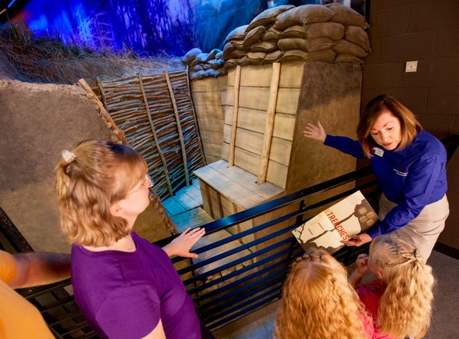 """Learn how soldiers climbed """"over the top"""" of their muddy, lice- and rat-infested trenches during offensives in the Great War at the National WWI Museum and Memorial."""