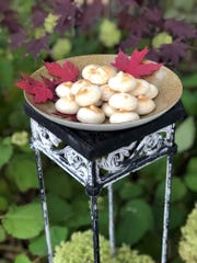Maple meringue cookies are light and airy treat.