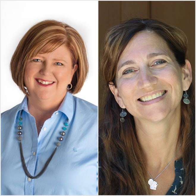 Barbara Dittrich (left) and Melissa Winker are running for the 38th Assembly District seat.