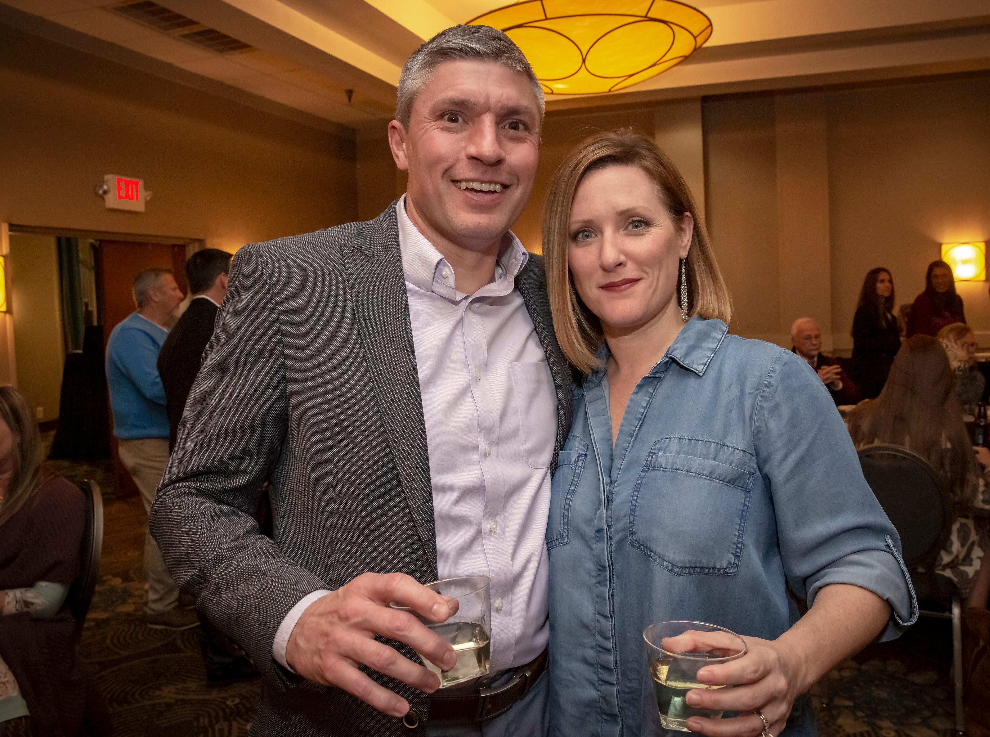 Jay and Amanda Landrum at the 24th annual Ruthie awards held at DoubleTree on Old Fort Parkway.Jim Davis/for the DNJ