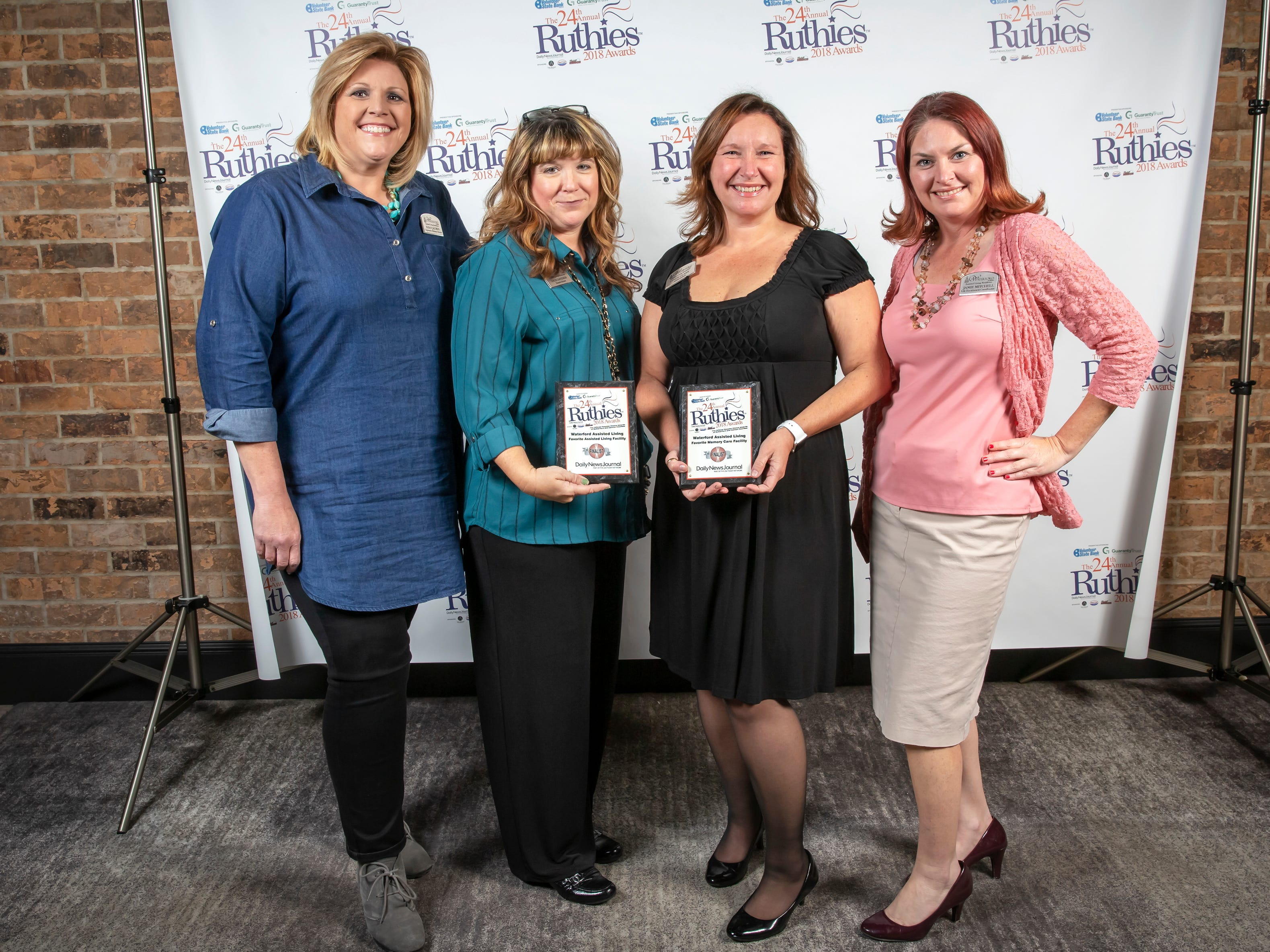 The 24th annual Ruthies Awards were held at DoubleTree Hotel in Murfreesboro on Tuesday, Oct. 23, 2018.