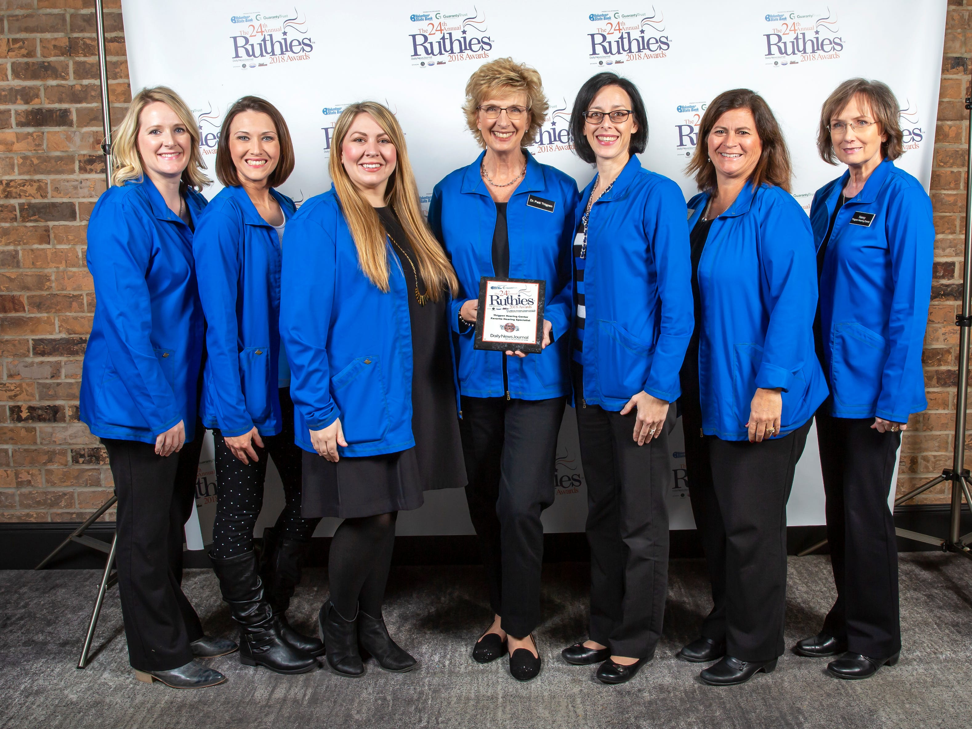The 24th annual Ruthies Awards were held Tuesday, Oct. 23, 2018 at DoubleTree Hotel in Murfreesboro, Tenn.
