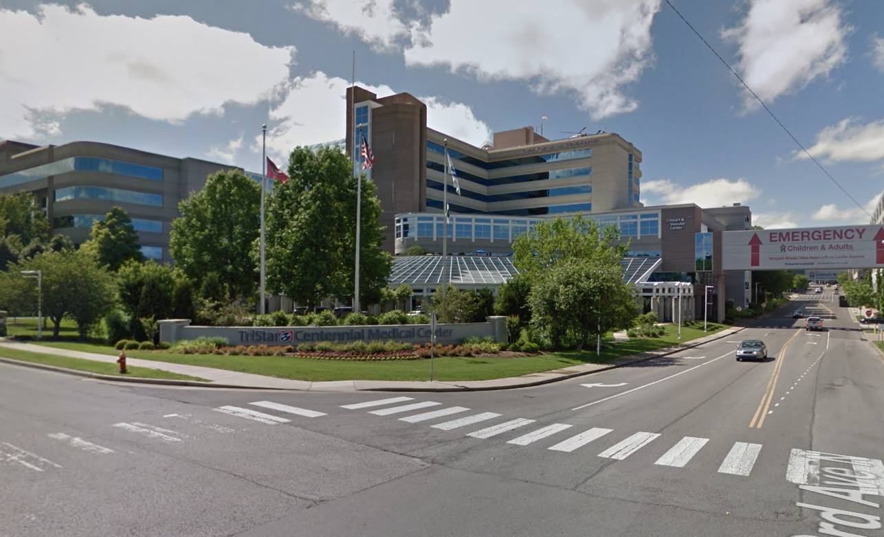 A worker was killed in a construction elevator near TriStar Centennial  Medical Center